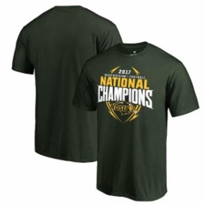 Fanatics Branded ファナティクス ブランド スポーツ用品  Fanatics Branded NDSU Bison Green 2017 NCAA FCS National Champions T-Shir