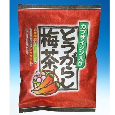 うめ海鮮 とうがらし梅茶 お徳用 72p(24×3入り)