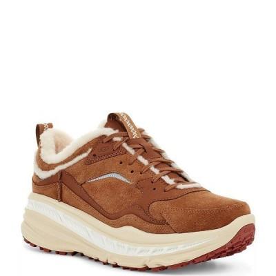 アグ メンズ スニーカー シューズ UGG Men's Suede CA805 Spill Seam Sneakers Chestnut