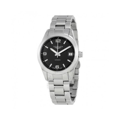 Longines/ロンジン レディース 腕時計 Conquest Black Dial 自動巻き レディース Watch L2.385.4.56.6