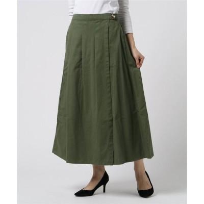 スカート 【FORT POINT】ラップスカート Aライン