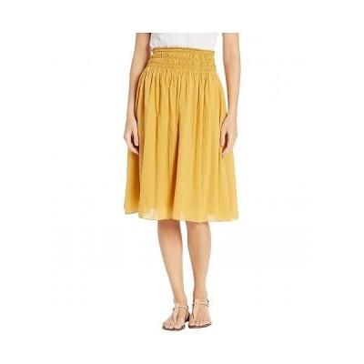 Hard Tail ハードテイル レディース 女性用 ファッション スカート Smocked Waist Ballet Skirt - Honeygold