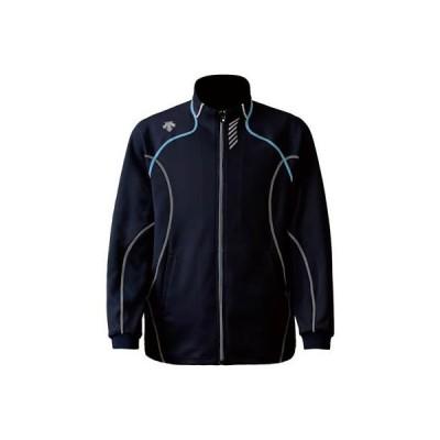 DESCENTE(デサント) メンズ トレーニングジャケット DTM-1910B Uネイビー×ブルー M