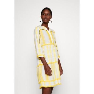 リッチ アンド ロイヤル ワンピース レディース トップス DRESS EMBROIDERED - Day dress - spring gold