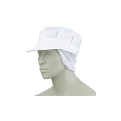 八角帽子たれ付き  男女兼用 厨房 調理 飲食 住商モンブラン MONTBLANC 9-623