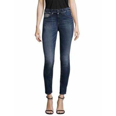 トゥルー リリジョン レディース パンツ デニム Jennie Skinny Deconstructed Cotton Jeans