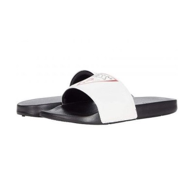 GUESS ゲス メンズ 男性用 シューズ 靴 サンダル Enelo - White 1