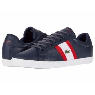 Lacoste ラコステ メンズ 男性用 シューズ 靴 スニーカー 運動靴 Grad Vulc 120 2 P Navy/White【送料無料】