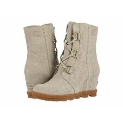 SOREL ソレル レディース 女性用 シューズ 靴 ブーツ レースアップ 編み上げ Joan of Arctic(TM) Wedge II Soft Taupe【送料無料】