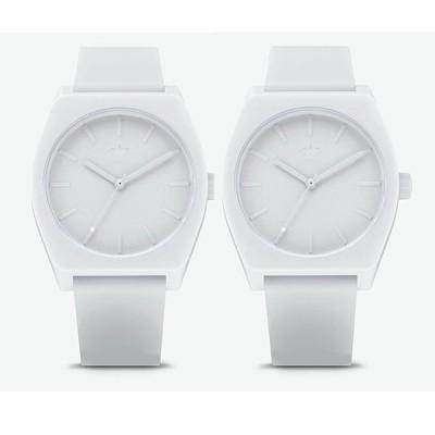 アディダス ADIDAS 腕時計 2個セット ペアウォッチ CJ6360 Z10-126 メンズ レディース プロセス-SP1 PROCESS-SP1 クォーツ ホワイト