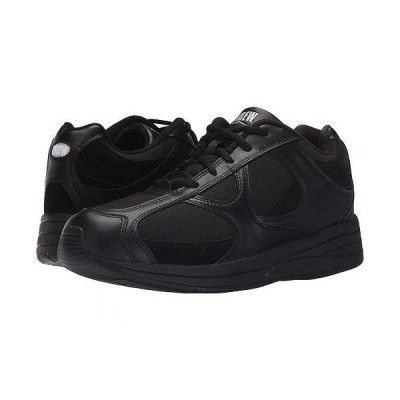 Drew ドリュー メンズ 男性用 シューズ 靴 スニーカー 運動靴 Surge - Black Leather/Nubuck/Mesh