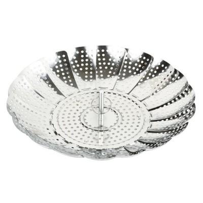 ● パール金属 クッキーフリーサイズヘルシースチーマー CC-1185 キッチン 蒸し器 時短調理 16〜24cmの鍋に対応