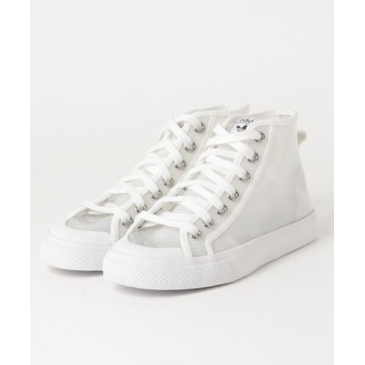 atmos / adidas NIZZA HIGH W (FOOTWEAR WHITE/CORE BLACK/SILVER METARIC) MEN シューズ > スニーカー