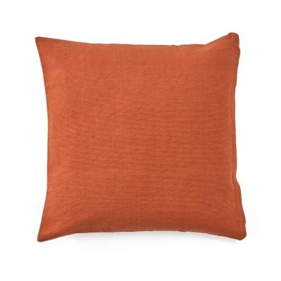 インド綿の手織りクッションカバー