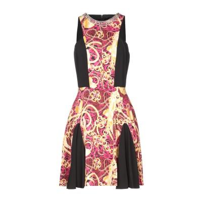 PHILIPP PLEIN ミニワンピース&ドレス フューシャ L レーヨン 96% / ポリウレタン 4% ミニワンピース&ドレス