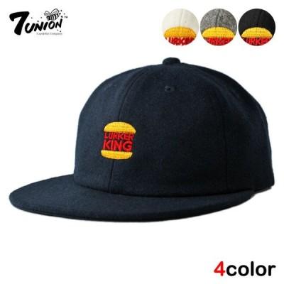 セブンユニオン 7UNION ストラップバックキャップ 帽子 メンズ レディース wt gy bk nv