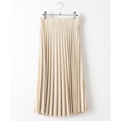 MARcourt/マーコート ACCORDION PLEATS SK s.beige FREE