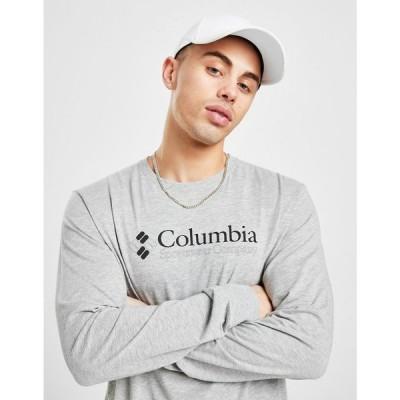 コロンビア Columbia メンズ 長袖Tシャツ トップス veto long sleeve t-shirt grey