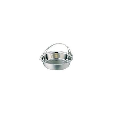 電磁ちり鍋(つる付・蓋無)26cm(8寸) 3301-0261 5291an