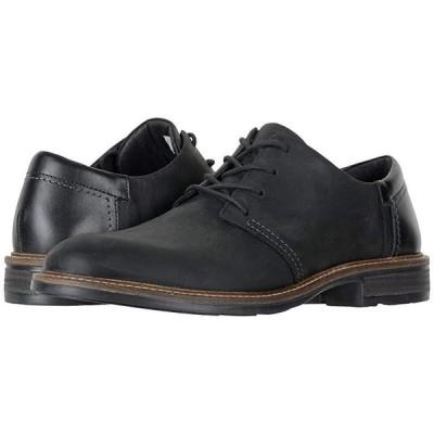 Naot Chief メンズ オックスフォード Oily Coal Nubuck/Black Raven Leather/Onyx Leather