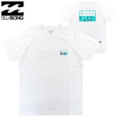 ビラボン Tシャツ 半そで メンズ バックプリント BB011238 綿100% S/S サーフブランド ディケールカット billabong