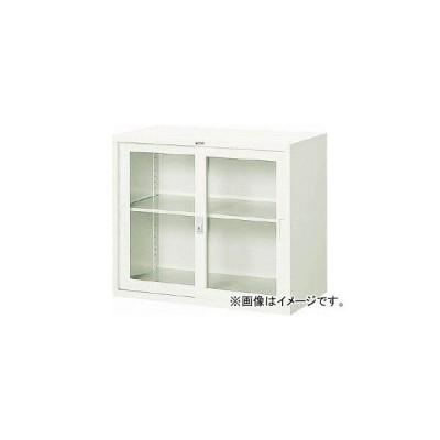トラスコ中山/TRUSCO スタンダード書庫(A4判D515)ガラス引違W880×H750 FJG52G7(5206871) JAN:4989999761306