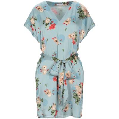 I AM ANN ミニワンピース&ドレス ライトグリーン M ポリエステル 100% ミニワンピース&ドレス