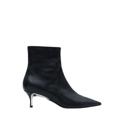 フルラ FURLA ショートブーツ ブラック 36 革 100% ショートブーツ