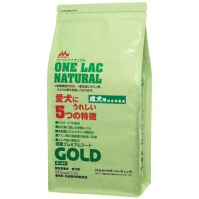 森乳 ワンラックナチュラル ゴールド 成犬用 3kg