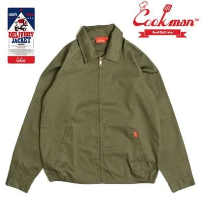 COOKMAN ジャケット Delivery Jacket Khaki クックマン カーキグリーン