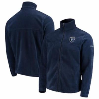 Columbia コロンビア スポーツ用品  Columbia San Jose Earthquakes Navy Flanker Full-Zip Jacket