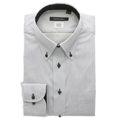 【COOL MAX】ボタンダウンカラードレスシャツ ストライプ 〔EC・BASIC〕