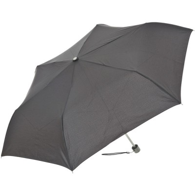 メンズ TOTES 折りたたみ傘 50cm(A102) ミニ手動開閉 ブラック
