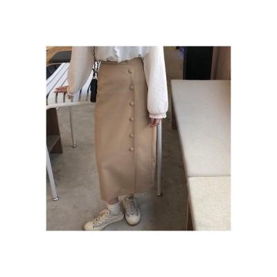 【送料無料】ハイウエスト 単一色 着やせ ドレス 女 年 秋冬 韓国風 何でも似合う | 364331_A64471-5363783