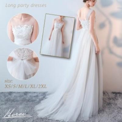 ウェディングドレス 白 二次会 花嫁 大きいサイズ ウエディングドレス ウェディングドレス エンパイア ノースリーブ レディース チュール