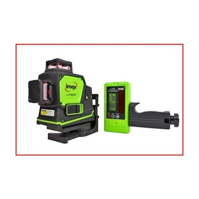 Imex LX3DRD multi-line laser + Detector【並行輸入品】