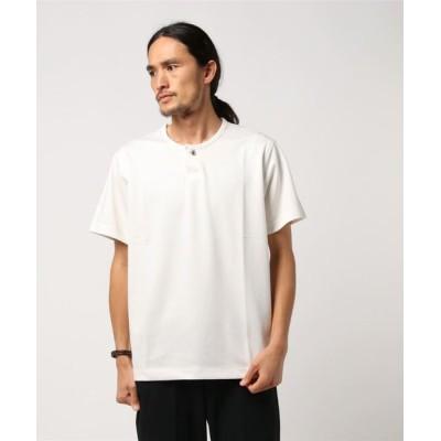 ADAM ET ROPE' / 【Wild Life Tailor】ピンヘッドヘンリーTシャツ MEN トップス > Tシャツ/カットソー