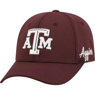 トップオブザワールド Top of the World メンズ キャップ 帽子 Texas A&M Aggies Maroon Phenom 1Fit Flex Hat