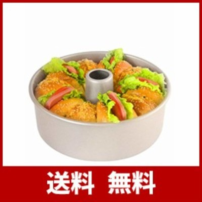 CHEFMADE シフォン ケーキ型 Φ21.8cm 底取れ式 粘りにくいケーキ型