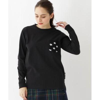 BASE STATION/ベースステーション 長袖 Tシャツ ニットポケット WEB限定 11255 ブラック(119) 01(S)