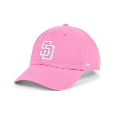 47ブランド レディース 帽子 アクセサリー San Diego Padres Pink CLEAN UP Cap