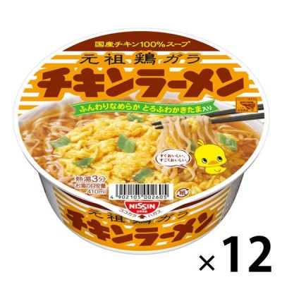 日清食品日清食品 日清チキンラーメンどんぶり(12個入り)
