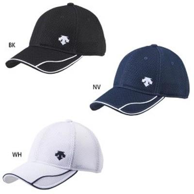 【送料無料】 デサント DESCENTE メンズ レディース ダブルメッシュキャップ 帽子 スポーツ トレーニング DMAPJC00