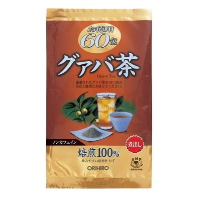 ◆オリヒロ お徳用グァバ茶 60包