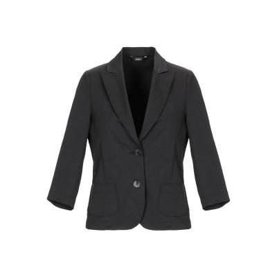 カルラ ジー CARLA G. テーラードジャケット ブラック 46 コットン 96% / ポリウレタン 4% テーラードジャケット