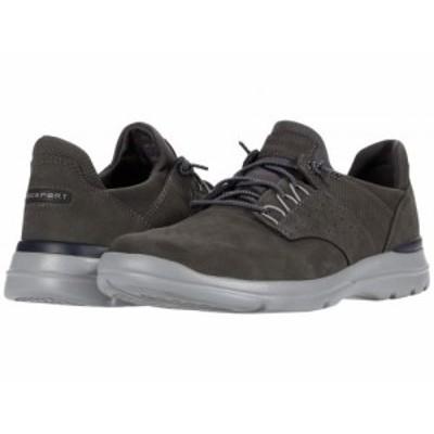 Rockport ロックポート メンズ 男性用 シューズ 靴 スニーカー 運動靴 City Edge Ghillie Grey Nubuck【送料無料】