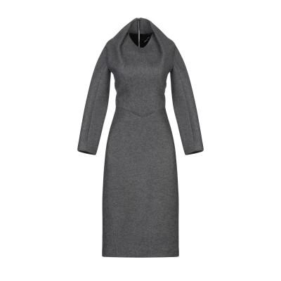 ディースクエアード DSQUARED2 7分丈ワンピース・ドレス スチールグレー XS ウール 48% / コットン 40% / ナイロン 12%