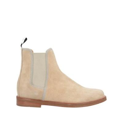 DUKE + DEXTER メンズ ショートブーツ 靴 アイボリー