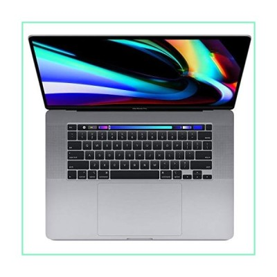 Apple 16インチ タッチバー付きMacBook Pro 9th-Gen 8-Core Intel i9 2.3GHz、32GB RAM、1TB SSD、AMD Radeon Pro 5500M 8GB、スペースグレ