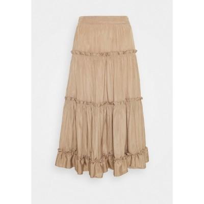 シュテフェン スクラウト スカート レディース ボトムス SAO PAULO FASHION SKIRT - A-line skirt - desert